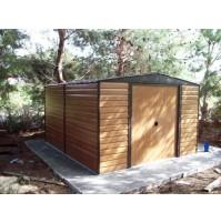 מחסן גינה דמוי עץ: ED1012 מידה 3.13X 3.70 מטר