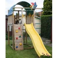 מתקן חצר לילדים לגינה Jungle Gym Villa במבצע מיוחד לקיץ